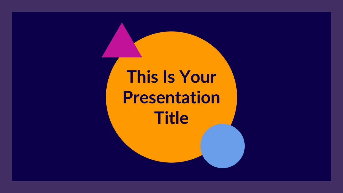 jupiter free presentation template for keynote and Google slides