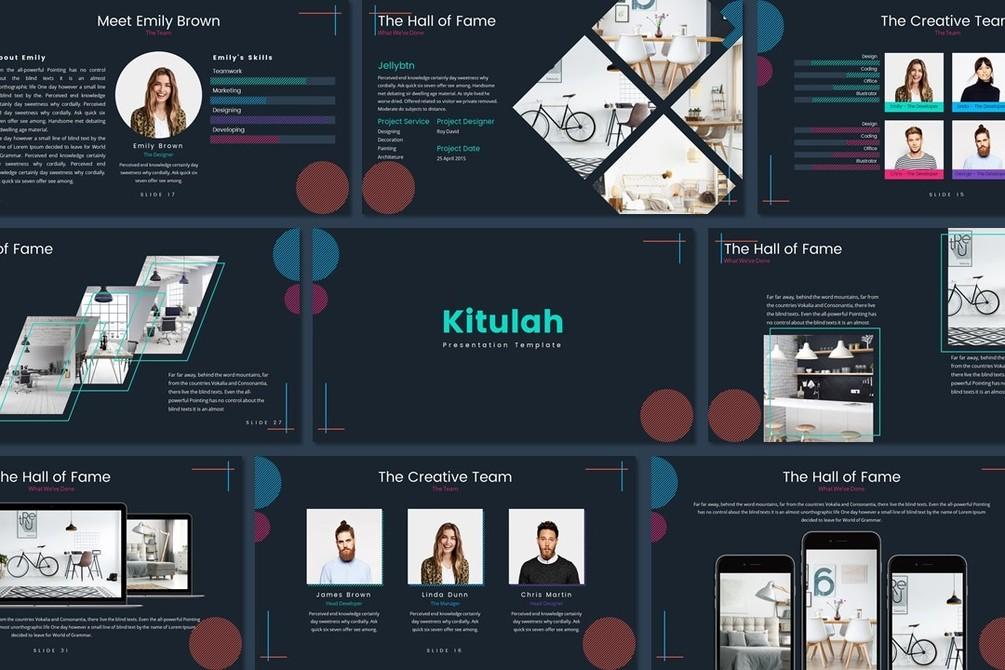 Kitulah Free Presentation Template