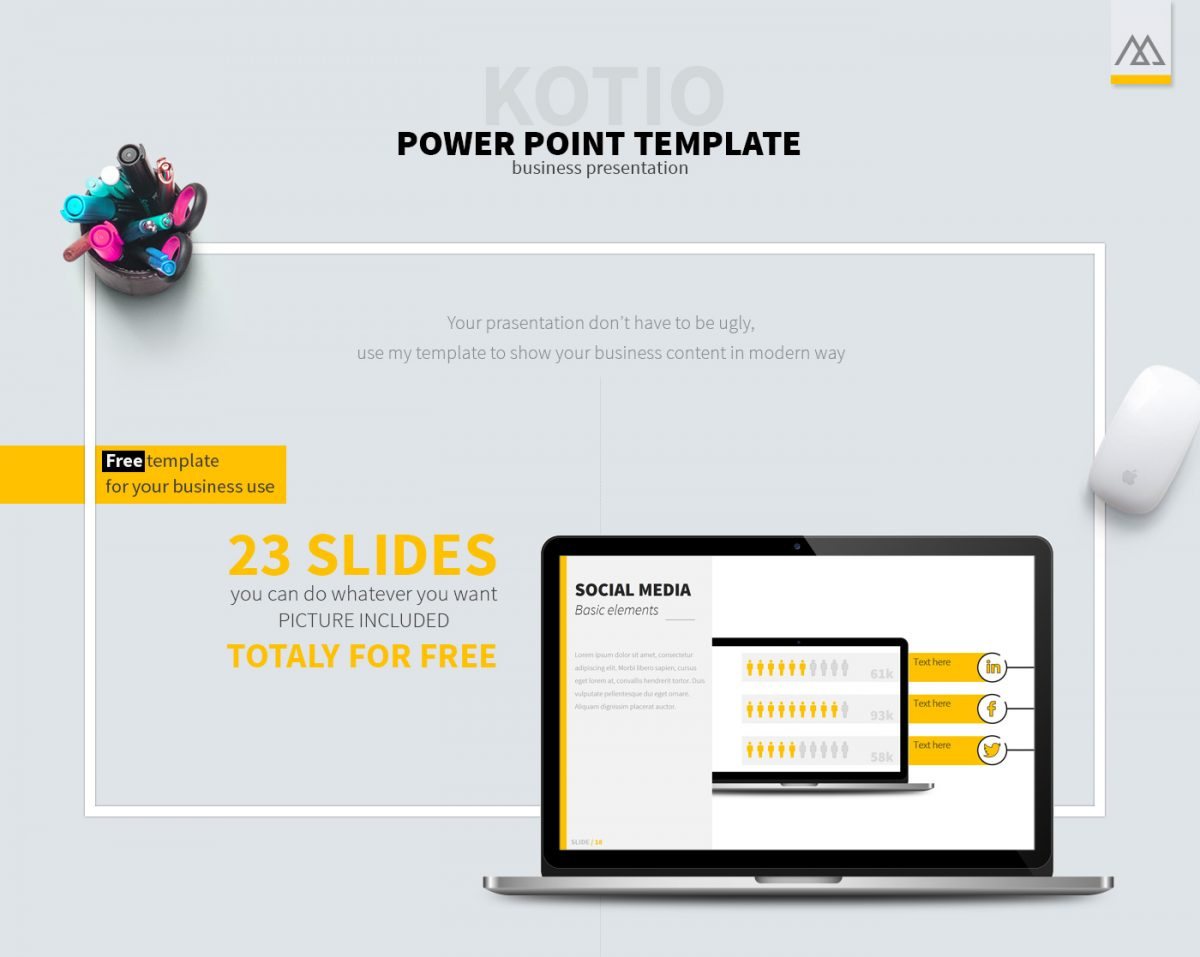 Kotio Free Powerpoint Template