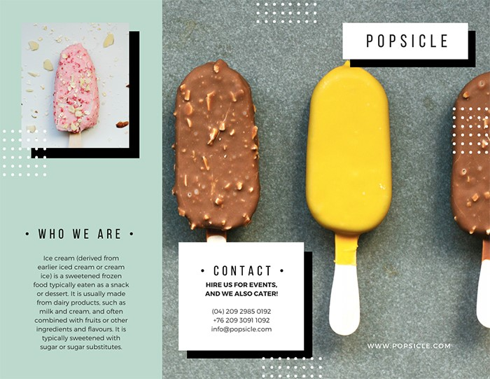 mint-green-polkadots-modern-marketing-brochure