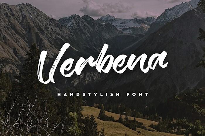 new-verbena-font