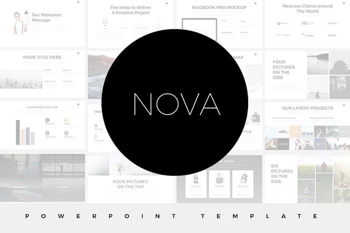 nova-minimal-powerpoint-template