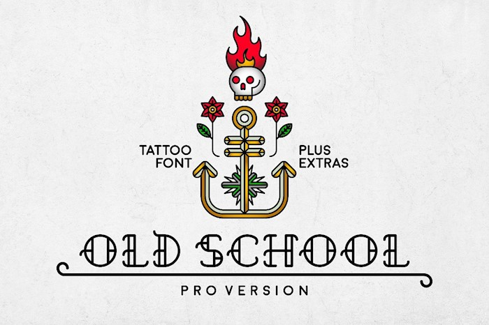old-schoolfont
