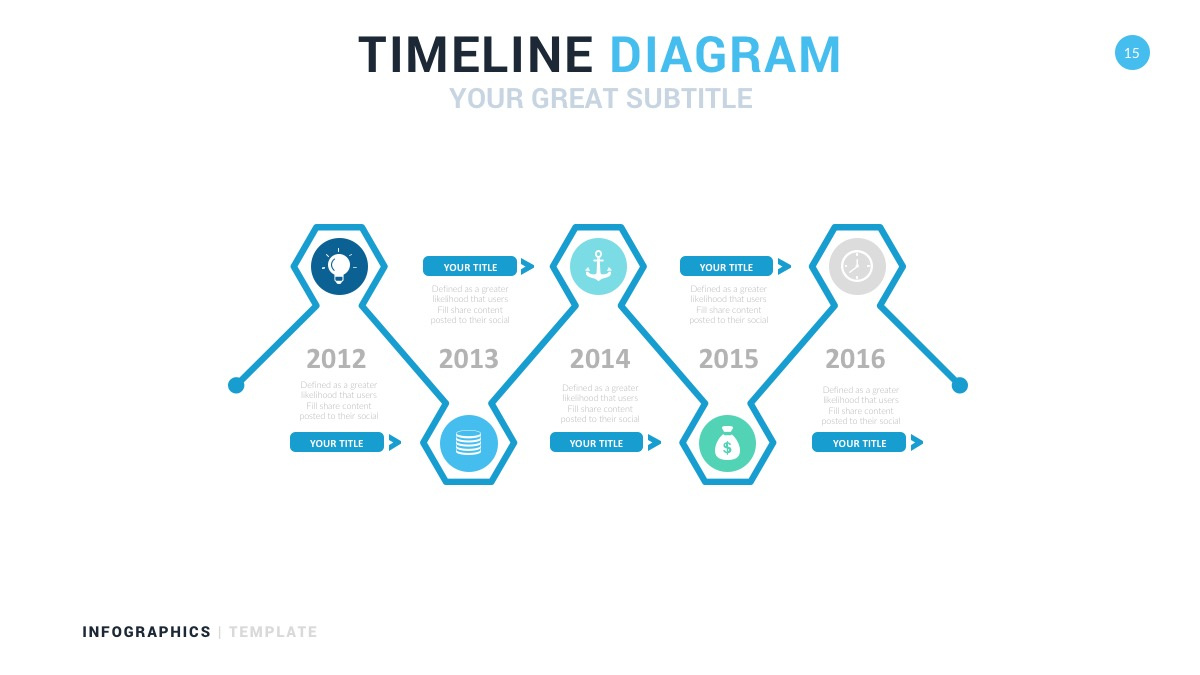corporate timeline diagram