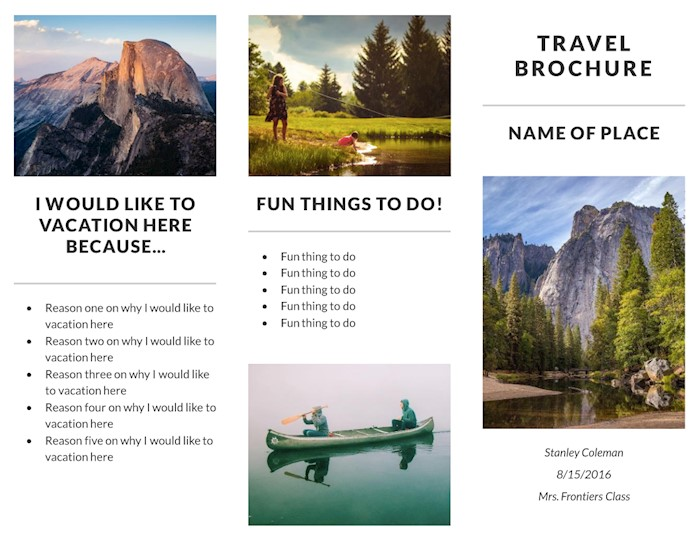 recreation-travel-brochure-template