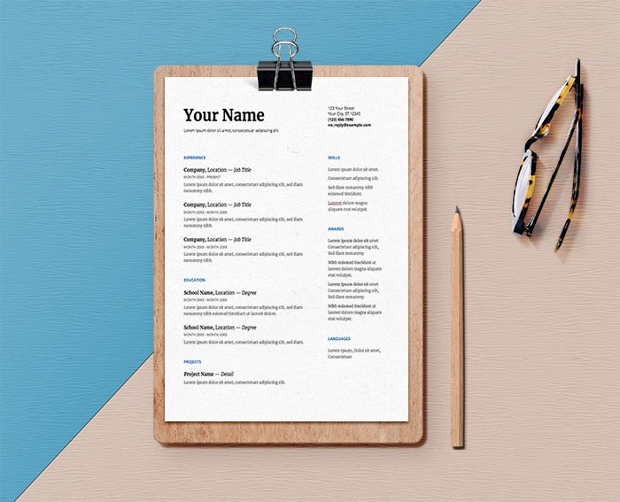 21 Best Google Docs Resume Templates Google Drive Examples