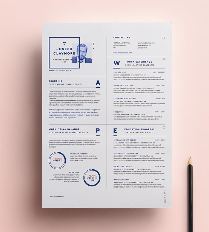 simple-resume-vol6