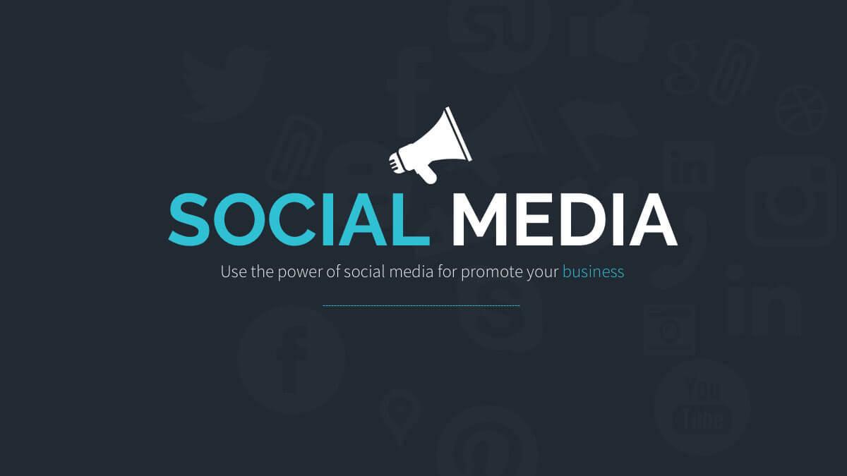Social Media Free Presentation Template