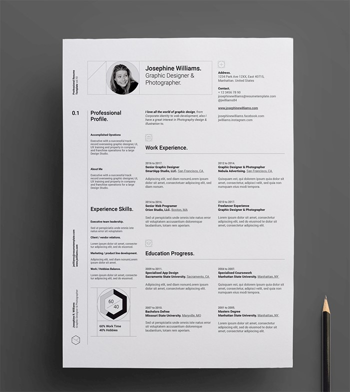 student-simple-resume-template