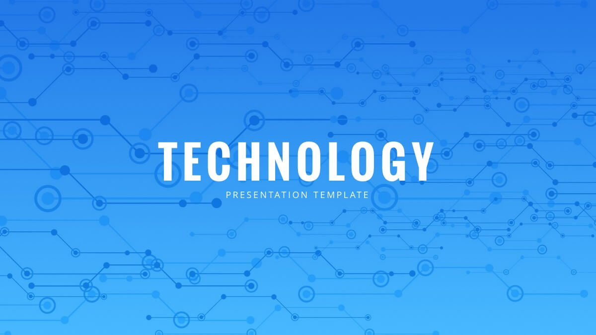Technology Powerpoint Template