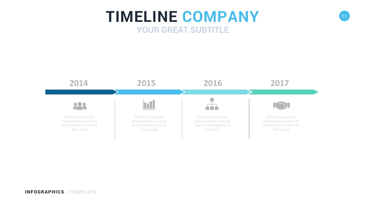 timeline company diagrams
