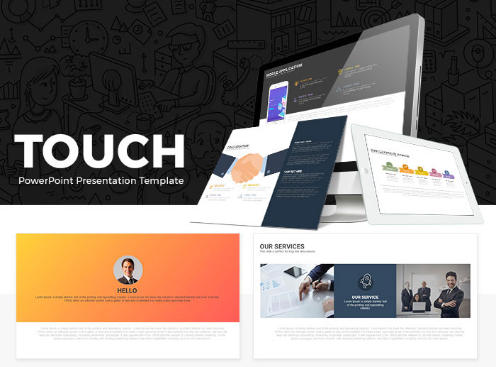 Touch Free Presentation Template