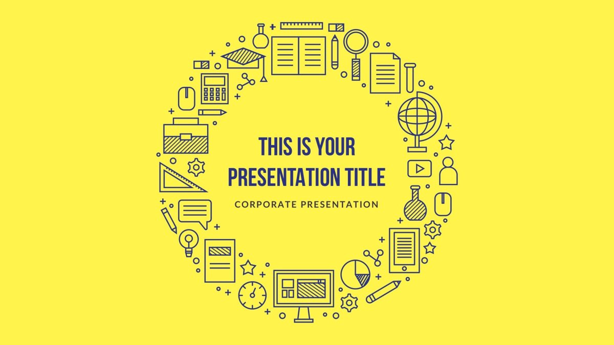 Uni educational Free template for keynote and gooogle slides