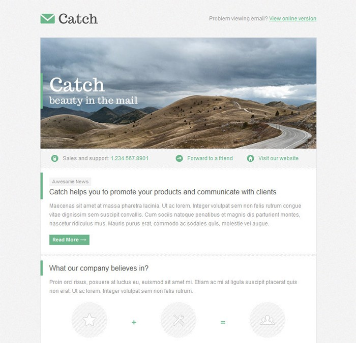 catch-email-template