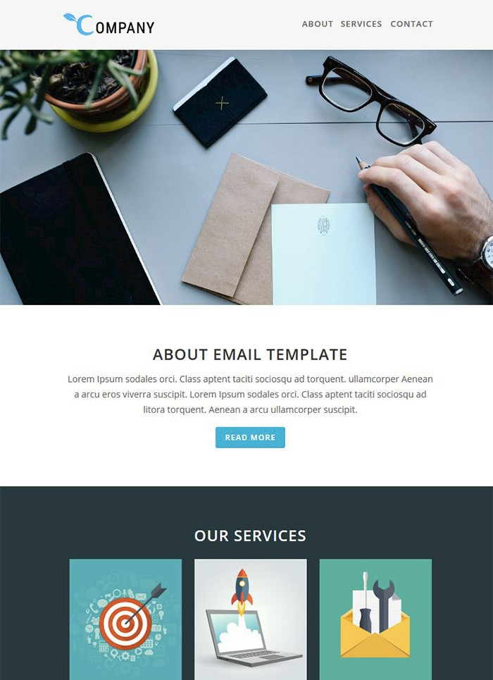 company-responsive-email-template