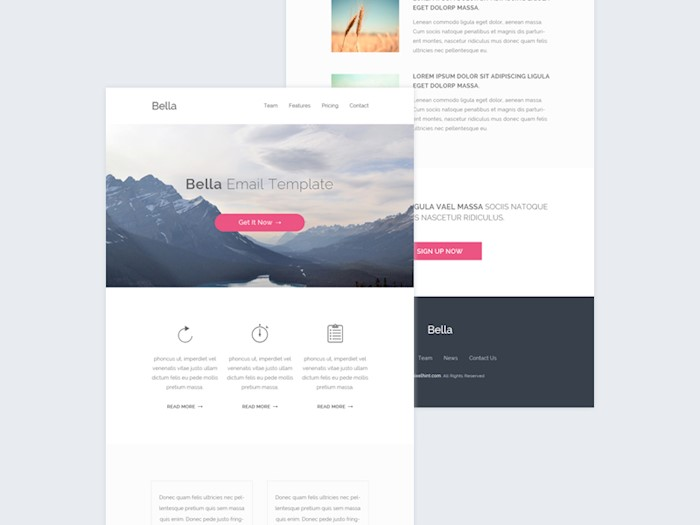 dribbble-email-template