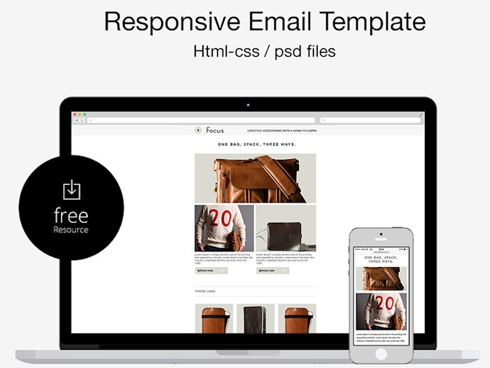 free-psd-html-responsive-email-template