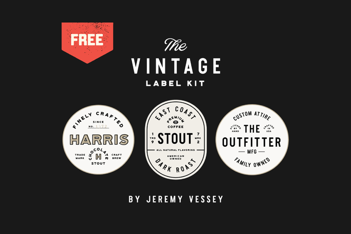 21 free vintage logo and badge templates