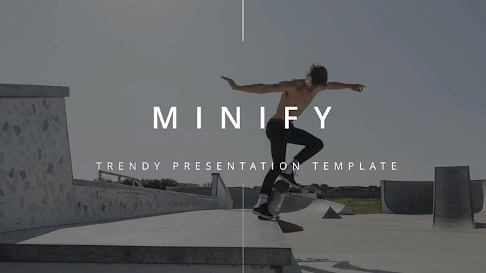 minify-clean-n-modern-google-slide-template