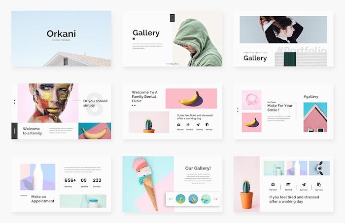 orkani-minimal-google-slide-template