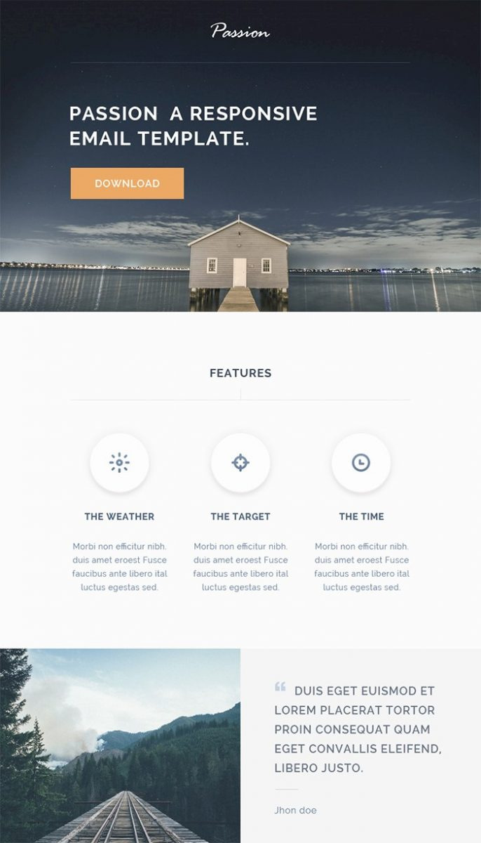 passion-html-responsive-email-template