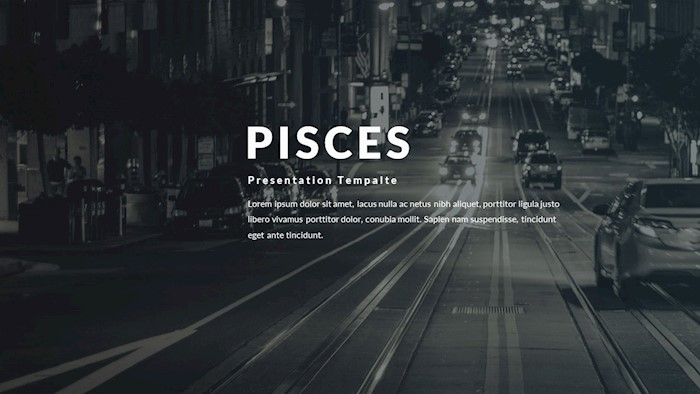 pisces-clean-google-slide-template