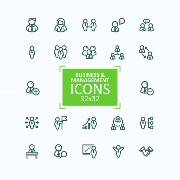 set-of-vector-illustrations-fine-line-icons-collection-of-business-people-icons-personnel-management