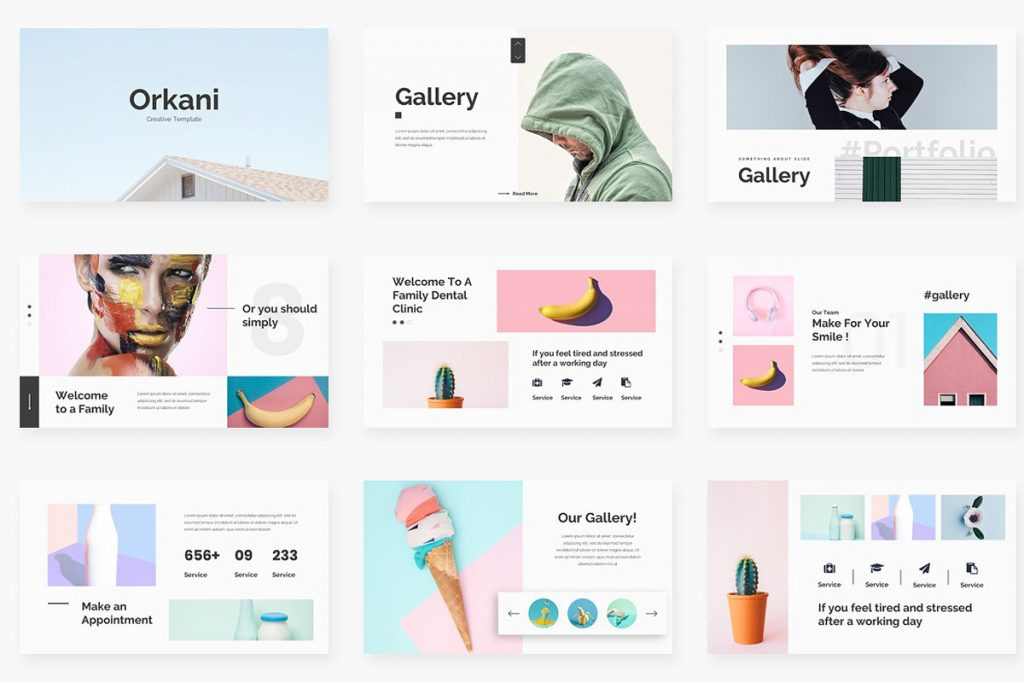 Simple Google Slides Themes
