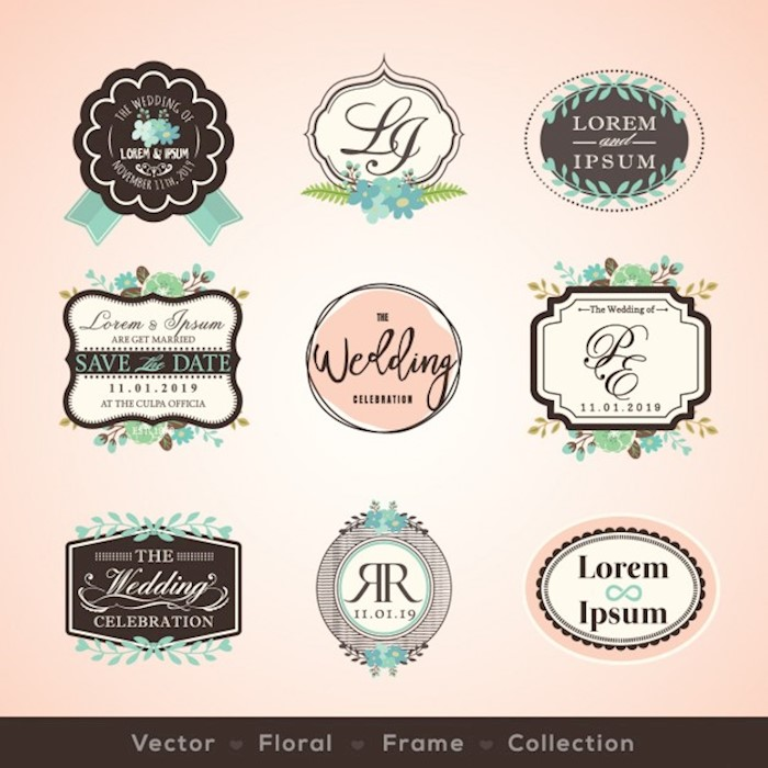 wedding-badges