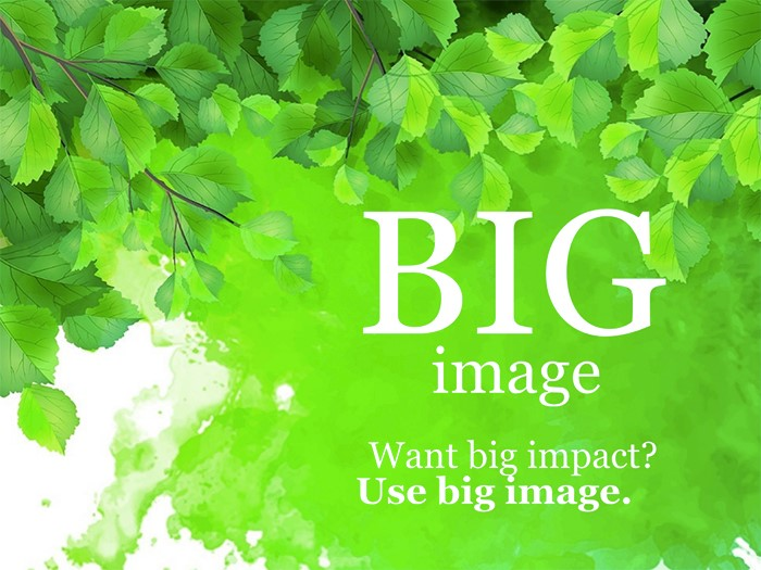 1-green-branch-free-google-slides-theme