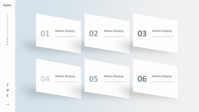 apino-minimal-google-slide