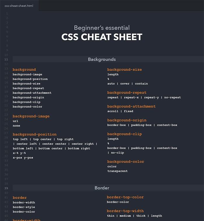 beginners-css-cheat-sheet