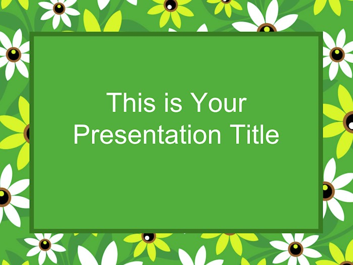 chamomile-field-free-google-slides