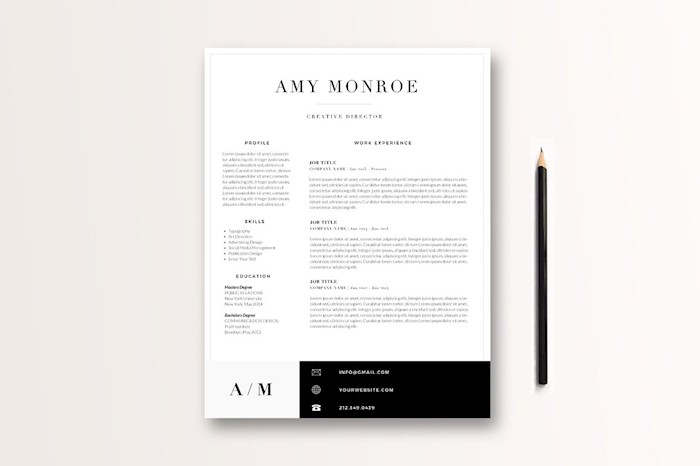 classic-resume-template-3-page