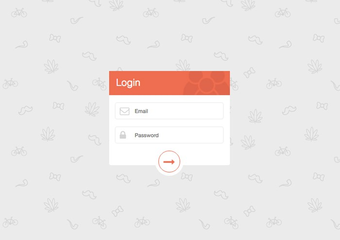 elegant-orange-login
