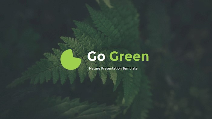 go-green-google-slides