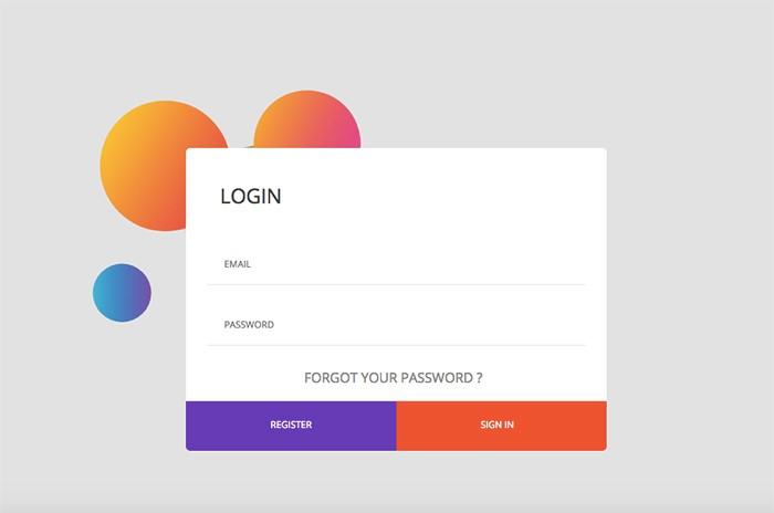 gorgeous-login-form