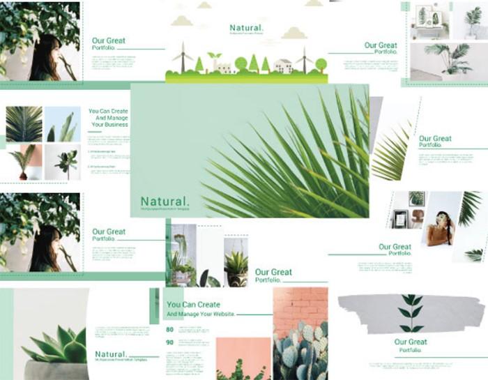 natural-google-slide-template