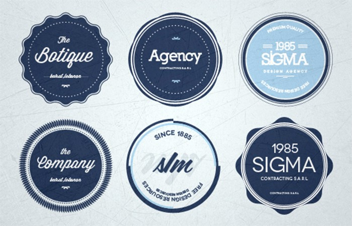 round-psd-badges