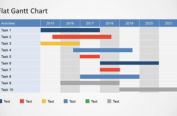 Free Gantt Chart Powerpoint and Excel Templates