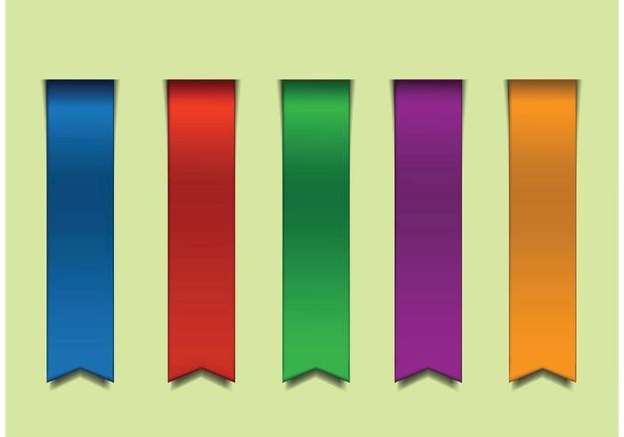 straight-colorful-vector-ribbons