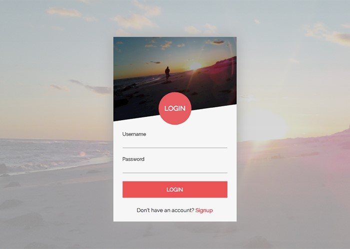sunset-login