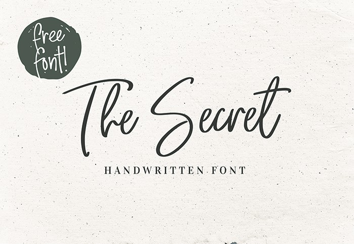 the-secret-font