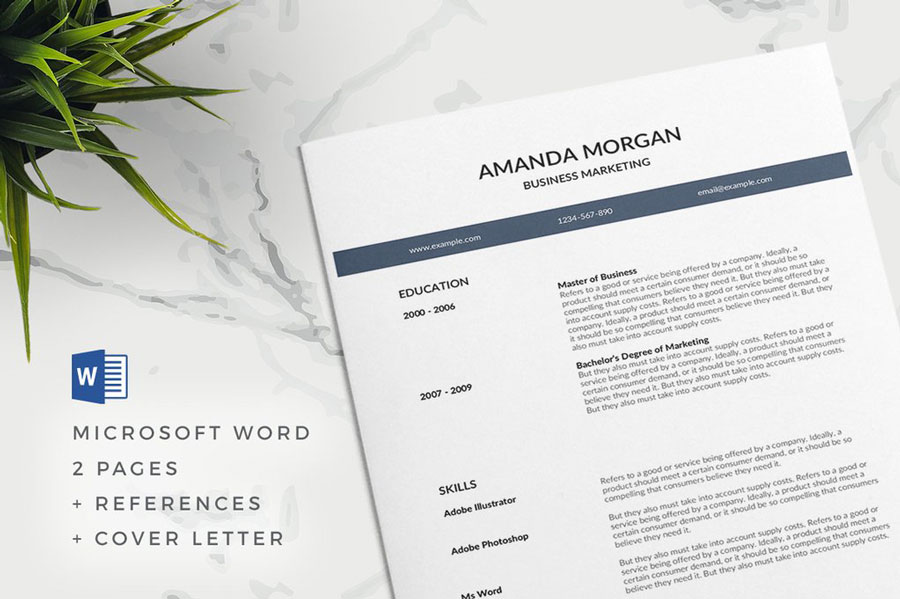 75 best free resume templates for 2018 updated professional free resume template flashek Image collections